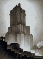 Shelton Towers Hotel New York by Hugh Ferriss