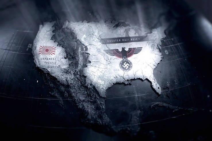 Man in the High Castle North America map
