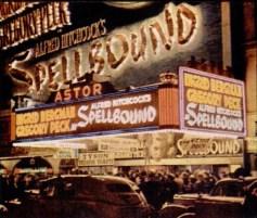 Astor New York at night 1946