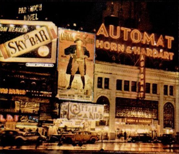Automat New York at night 1946