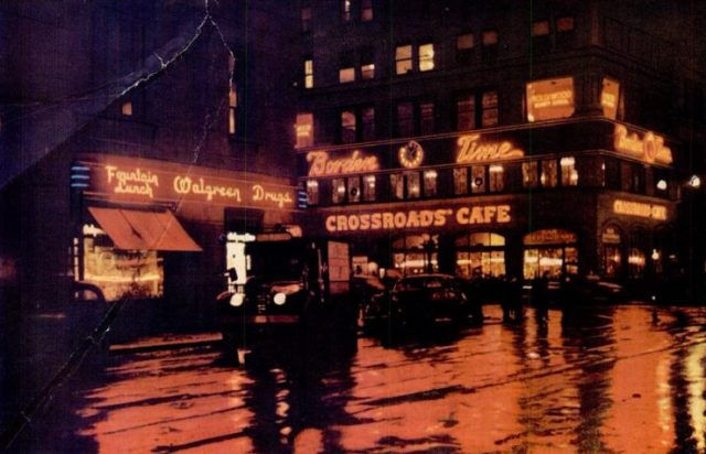 New York at night 1946