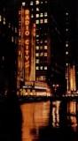 Radio City New York at night 1946