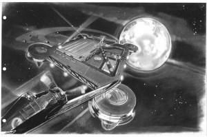 Sky Captain concept art by Kevin Conran