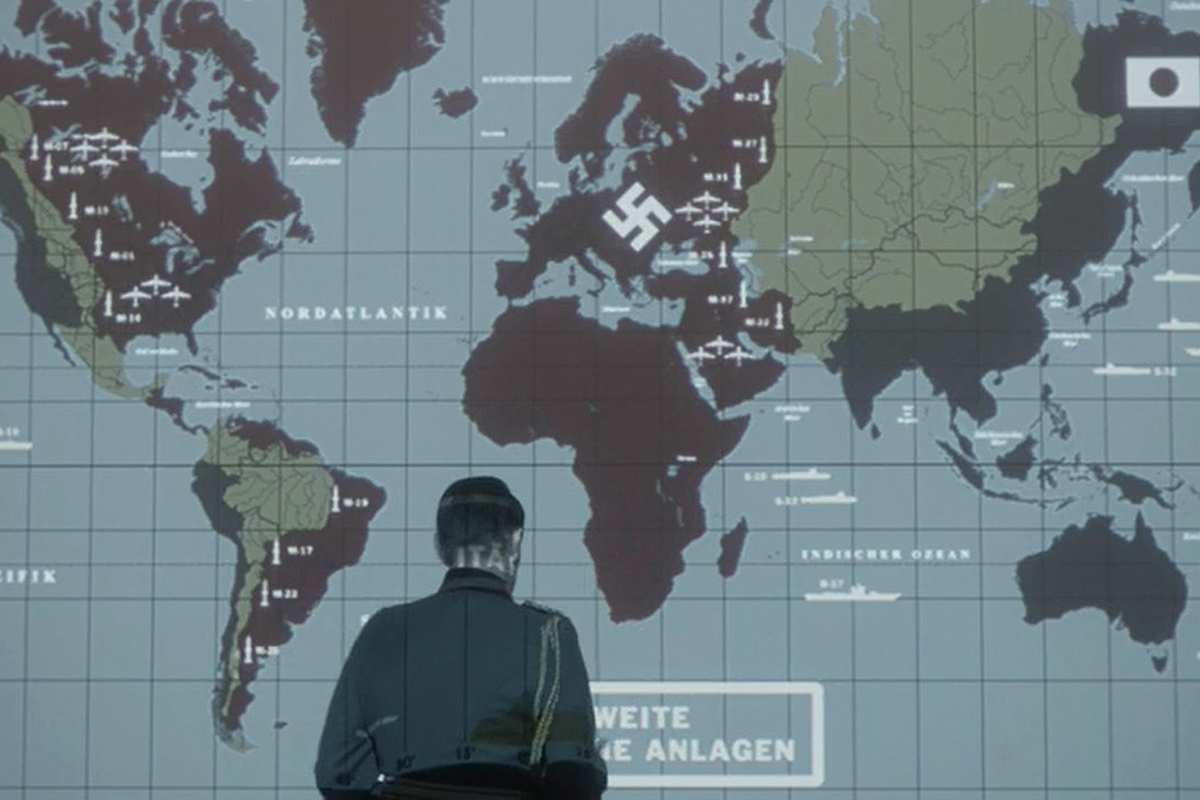 The Man in the High Castle map