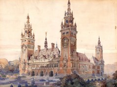 The Hague Peace Palace design by Louis Marie Cordonnier