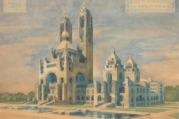 The Hague Peace Palace design by Willem Kromhout