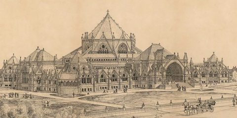 Library of Congress by Alexander Rice Esty