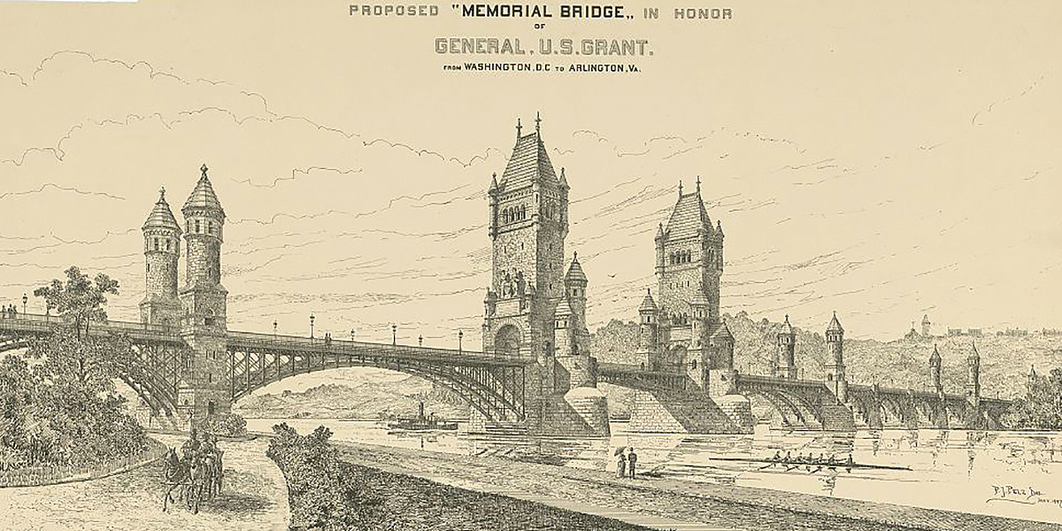 Memorial Bridge design