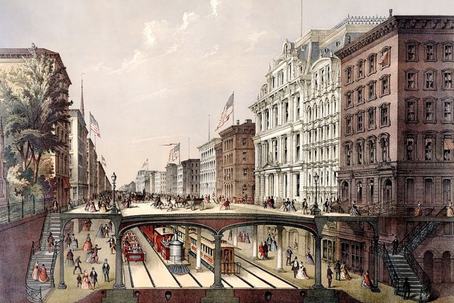 New York Arcade Railway design