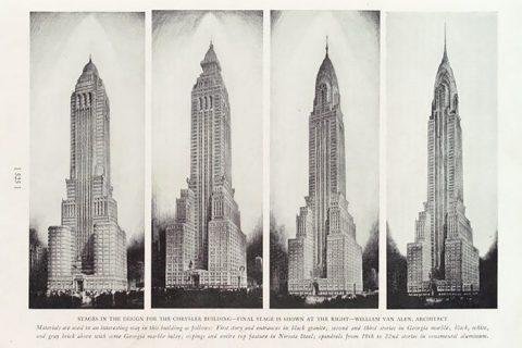 Chrysler Building designs