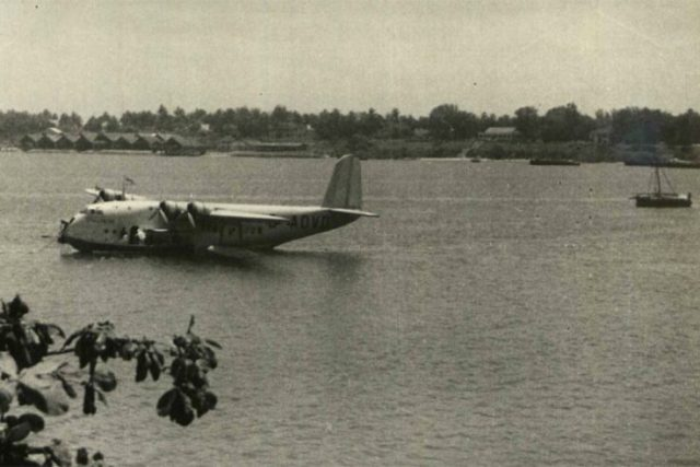 Dar es Salaam Tanganyika flying boat