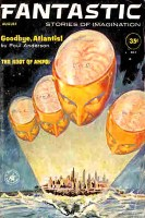 Fantastic August 1961 cover