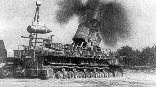 Karl-Gerät German siege mortar