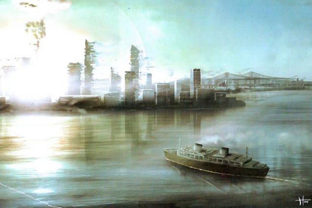 New York nuclear explosion