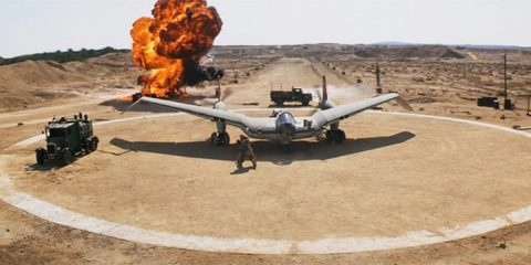 Raiders of the Lost Ark German flying wing