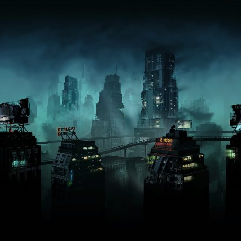 Rapture BioShock concept art
