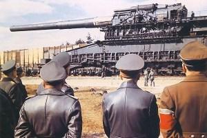 Schwerer Gustav German railway gun