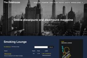Smoking Lounge website