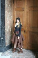 Steampunk adventurer outfit