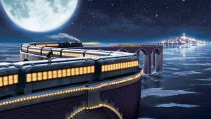 The Polar Express scene