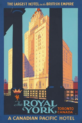 Royal York Toronto Canada poster
