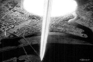 Washington DC nuclear attack illustration