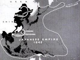 1942 Japanese Empire map