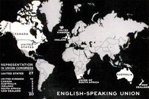 English-Speaking Union map