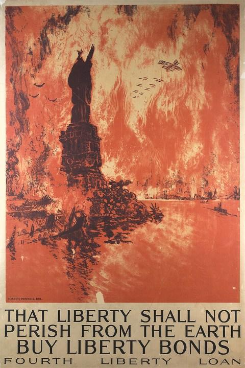 1918 American propaganda poster