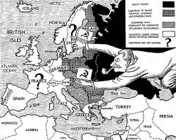 1947 Cold War map