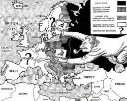 1947 Cold War map