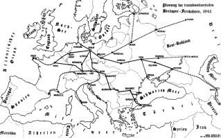 Breitspurbahn plan