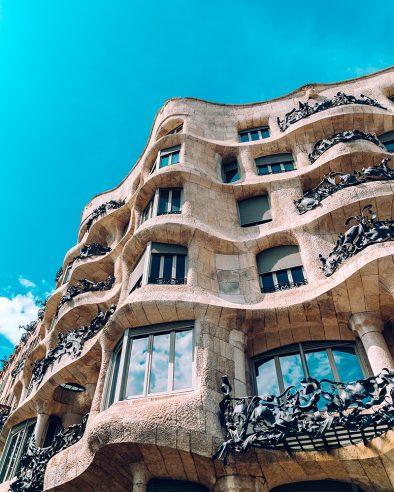 Casa Milà Barcelona Spain