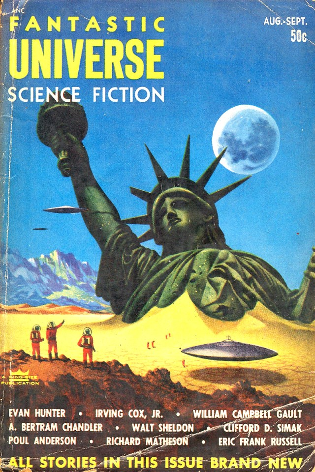 Fantastic Universe Science Fiction September 1953 cover