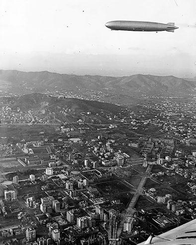 Graf Zeppelin Barcelona Spain