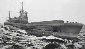 Japanese submarine artwork