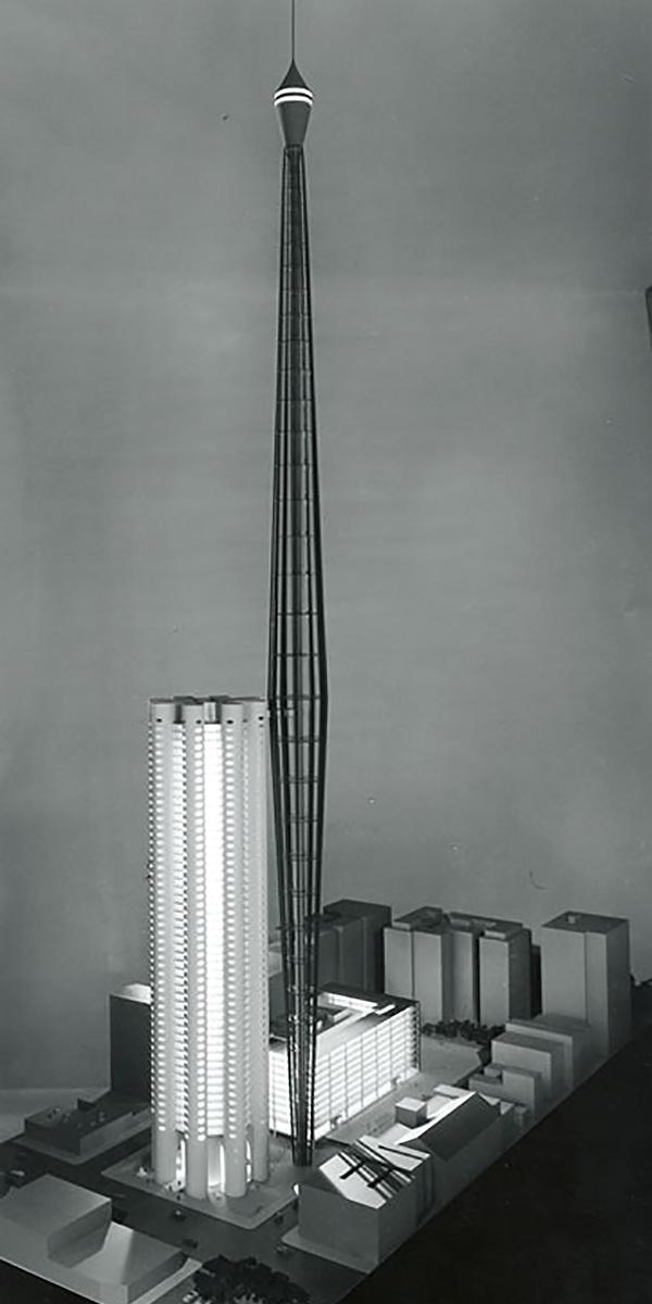New York ABC Tower model