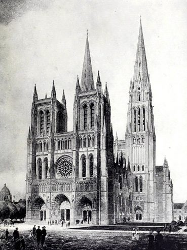 New York Cathedral of Saint John the Divine by Ralph Cram