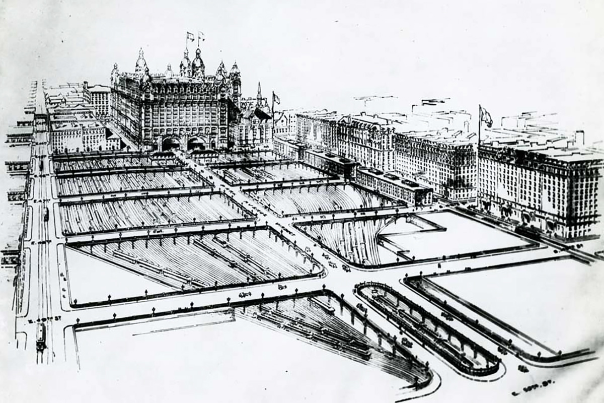 New York Grand Central Terminal design