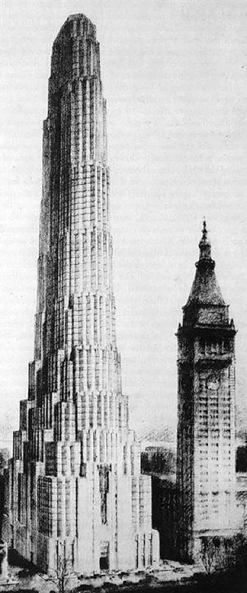 New York Metropolitan Life Tower design