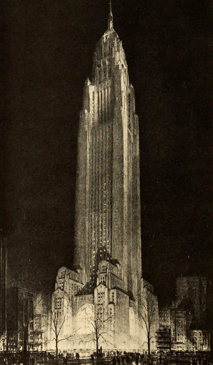 New York Office and Convocation Building by Bertram Goodhue