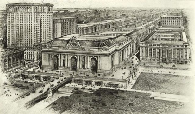 New York Terminal City design