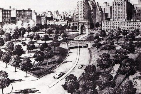 New York Washington Square Park design