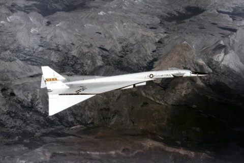 North American XB-70 Valkyrie bomber
