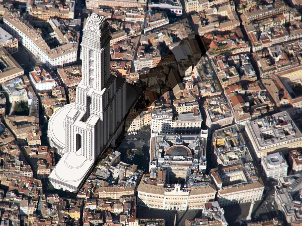 Palanti Tower Rome Italy