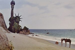 Planet of the Apes scene