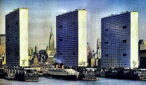 Mel Hunter New York skyscrapers