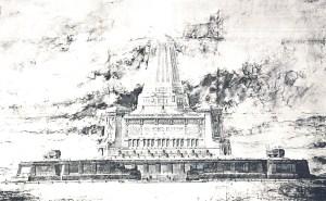 Paris Monument to the Glorious Dead design