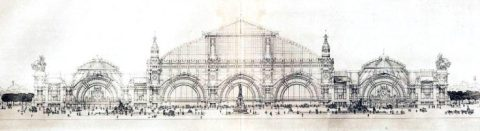 Paris train station design