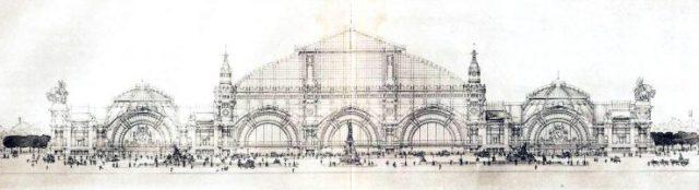 Paris train station design